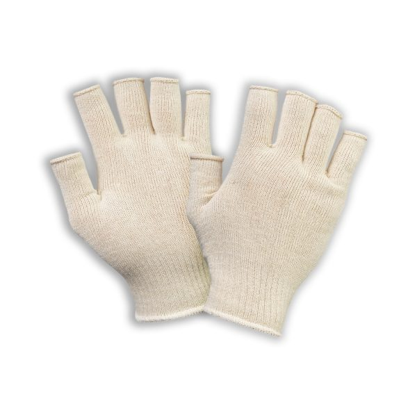 Nyitott ujjú pamut munkavédelmi kesztyű